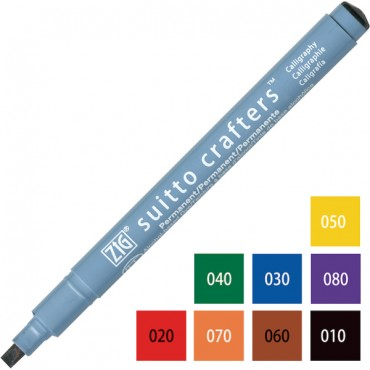 Pen SUITTO CRAFTERS Calligraphy 3,5 - DIFFERENT COLORS