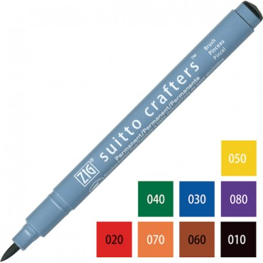 Pen SUITTO CRAFTERS Brush - DIFFERENT COLORS