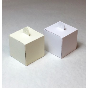 Box WITH LOOP 5,5 x 5,5 x 5,5 cm - DIFFERENT COLORS