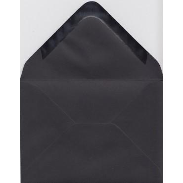 Envelopes KSH COLORED 8,3 x 11,2 cm (C7) 120 gsm 20 pcs. - Black