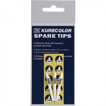 Spare tips for KURECOLOR Twin WS 3 Pcs. - Brush