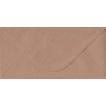 Envelop KSH COLORED 11 x 22 cm (C65) 120 gsm 50 pcs - Brown
