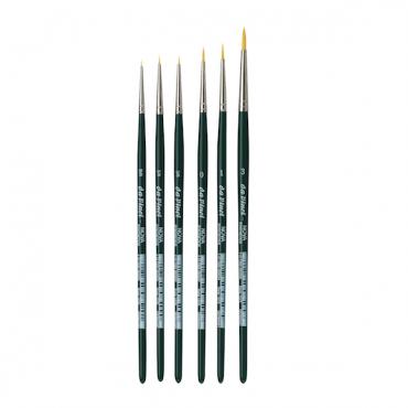 Brush NOVA 1570 golden synthetic fibre