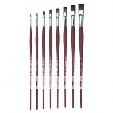Brush COLLEGE 8740 Oil-acrylik round, flat