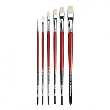 Brush MAESTRO 2 5123 Bristle artist brush, flat