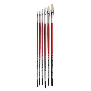 Brush MAESTRO 2 7423 Bristle artist brush, filbert shape