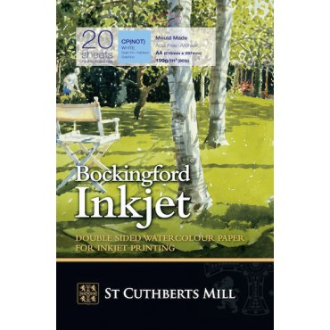 BOCKINGFORD Inkjet C.P. 190 g/m² 21 x 29,7 cm (A4) 20 Sheets - White