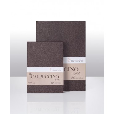 Sketch book THE CAPPUCCINO BOOK 120 gsm A4 40 Sheets Cappuccino - Brown