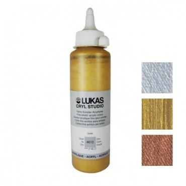 Acryl STUDIO METALLIC 250 ml - DIFFERENT COLORS