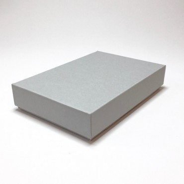 Archival box 15,5 x 23 x 4,5 cm AC1,6 - Grey/weiss