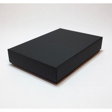 Flat box ZELLULOOS 15,5 x 23 x 4,5 cm - Black