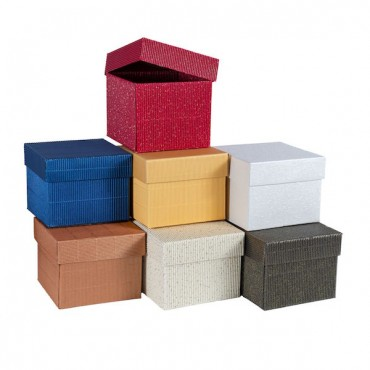 Gift Box 11 x 11 x 9 cm - DIFFERENT COLORS