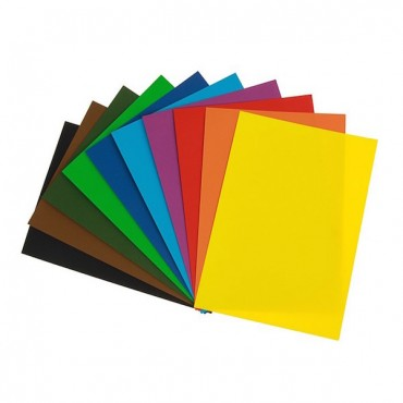 Cardboard LR  220 gsm 21 x 29,7 cm (A4) 25 Sheets - DIFFERENT COLORS