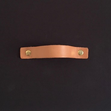 Leather handles 20 x 150 x 3 mm 2 pcs - Different colors