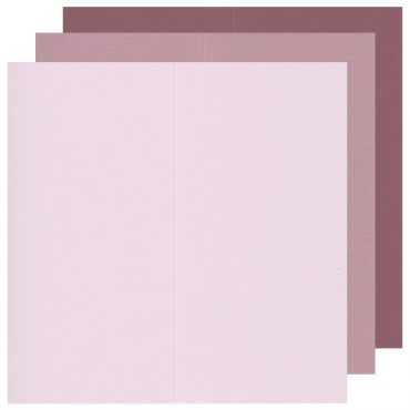 Blanc card KEAYKOLOUR 10,5 x 21 cm (21 x 21 cm) 300gsm 10 Pcs. - DIFFERENT COLORS