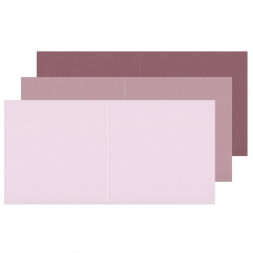 Blank card KEAYKOLOUR 14 x 14 cm (14 x 28 cm) 300 gsm 10 Pcs. - DIFFERENT COLORS