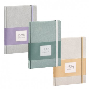 "Notebook ""1584 by HAHNEMÜHLE""  90+100 gsm A5 100 Sheets - DIFFERENT COLORS"