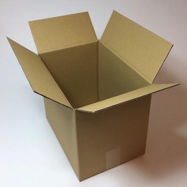 Box from corrugated cardboard 3 mm 31,5 x 25,5 x 23 cm