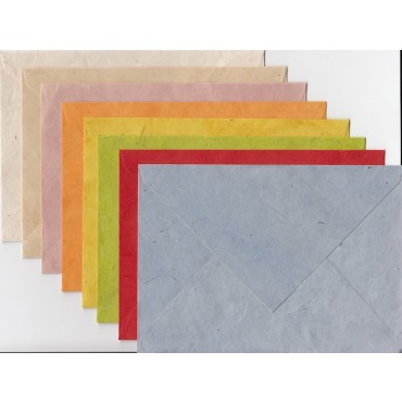 Envelope THP C6 11,5 x 16 cm 10 Pieces - DIFFERENT VARIATIONS
