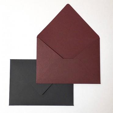 Envelop BUGRA C6 11,5 x 16 cm 140 gsm 10 Pcs. - DARK COLORS