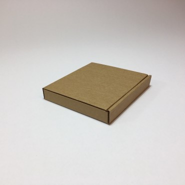 Gift Box CD 13,5 x 14,5 x 2 cm - Brown