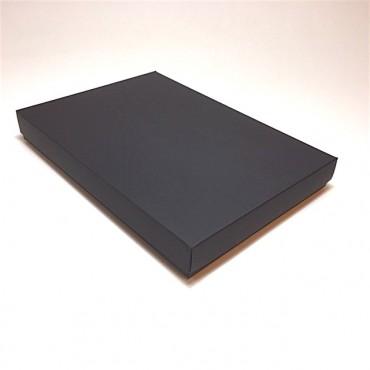 Gift Box 22,5 x 32 x 4 cm - Black cardboard