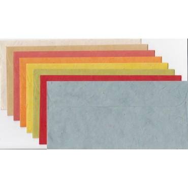 Envelope THP C65 11 x 22 cm 10 Pieces - DIFFERENT VARIATIONS