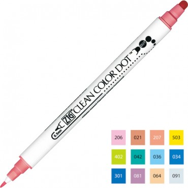 CLEAN COLOR DOT Sketching pen - DIFFERENT COLORS