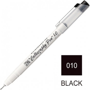 CALLIGRAPHY PEN 1 mm Square Tip - Black