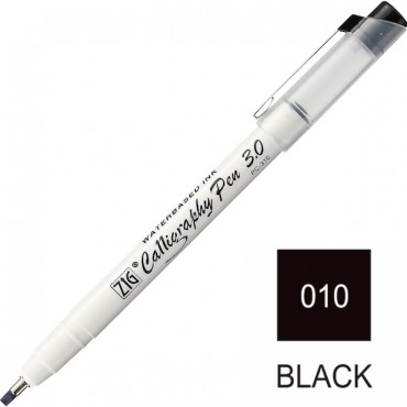 CALLIGRAPHY PEN 3 mm Square Tip - Black