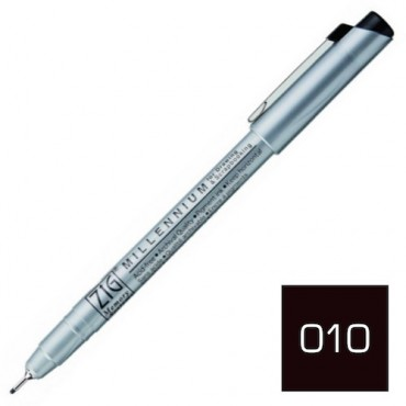 Sketching pen MILLENNIUM 08 0,65 mm - Black