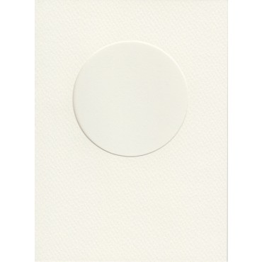 Blank card 11,7x16 cm  220 gsm 10 Pieces - Natural white