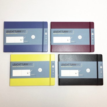 Sketchbook LANDSCAPE 150 gsm 21,0 x 14,5 cm 112 plain sheets - DIFFERENT COLORS