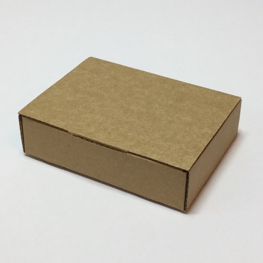 Gift Box ZELLULOOS 8 x 11 x 3 cm - Brown