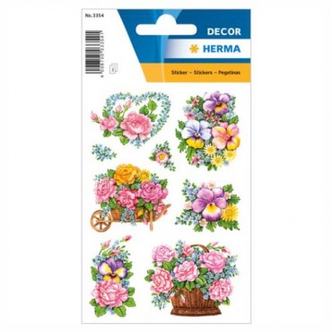 Labels DECORATIVE 8 x 12 cm 3 sheets - 3354