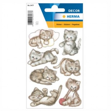 Labels DECORATIVE 8 x 12 cm 3 sheets - 3477