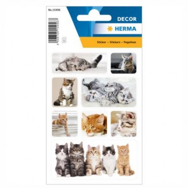 Labels DECORATIVE 8 x 12 cm 3 sheets - 15456