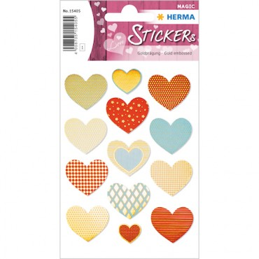 Labels DECORATIVE 8 x 12 cm 1 sheet - 15405