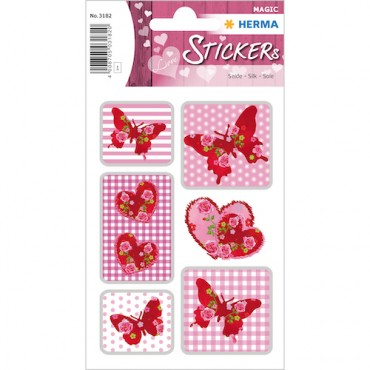 Labels DECORATIVE 8 x 12 cm 1 sheet - 3182