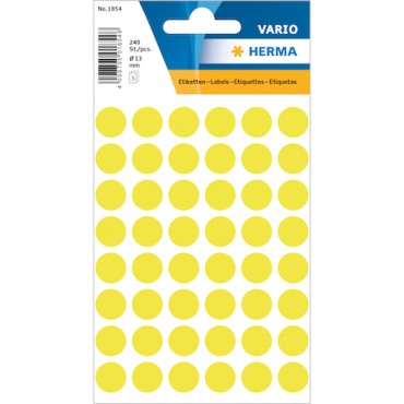 Multi-purpose labels 8 x 12 cm 5 sheets - 1854