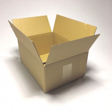 Box from corrugated cardboard 3 mm 31 x 22 x 13 cm
