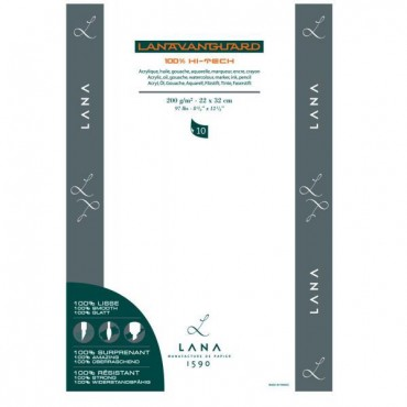 Universal Pad LANAVANGUARD 200 gsm 22 x 32 cm 10 Sheets
