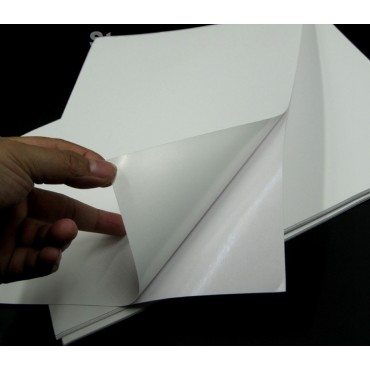 Adhesive paper STICOTAC GLOSS 80 gsm 29,7 x 42 cm (A4) 25 sheets - Gloss