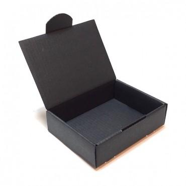 Flat box ZELLULOOS 8 x 11 x 3 cm - Black