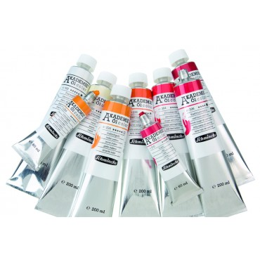 Oil colour AKADEMIE 200 ml - DIFFERENT COLORS