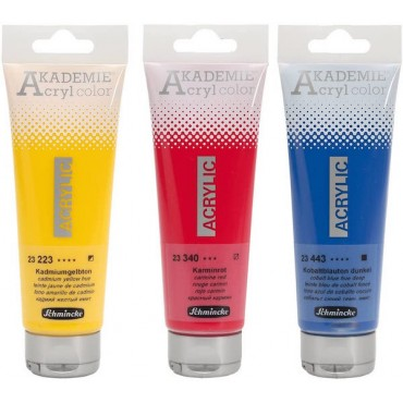 Acryl colour AKADEMIE 120 ml - DIFFERENT COLORS