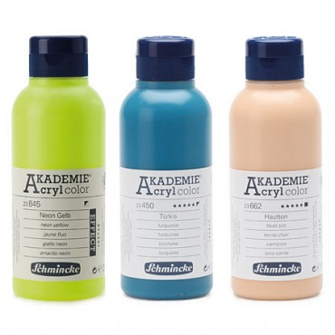 Acryl colour AKADEMIE 250 ml - DIFFERENT COLORS