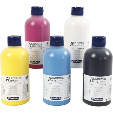 Acryl colour AKADEMIE 500 ml - DIFFERENT COLORS