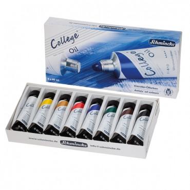 Oil colour COLLEGE 8 x 60 ml