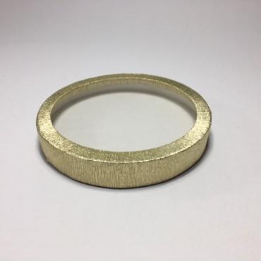 Box  ROUND Ø 20,5 x 3 cm - Gold